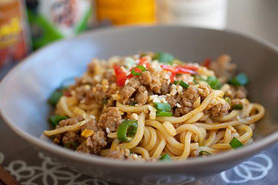 Dan Dan Noodles | Recipe | Noodles, Mie and Sauces