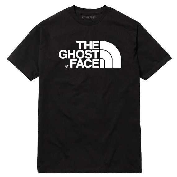 Ghost Face Parody T-Shirt Wu-Tang Clan RZA GZA ODB by Turnlabels