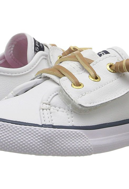Sperry Kids SP-Seacoast Jr. (Toddler/Little Kid) (White Leather) Girl's Shoes - Sperry Kids, SP-Seacoast Jr. (Toddler/Little Kid), CG54360-100, Footwear Closed General, Closed Footwear, Closed Footwear, Footwear, Shoes, Gift, - Fashion Ideas To Inspire