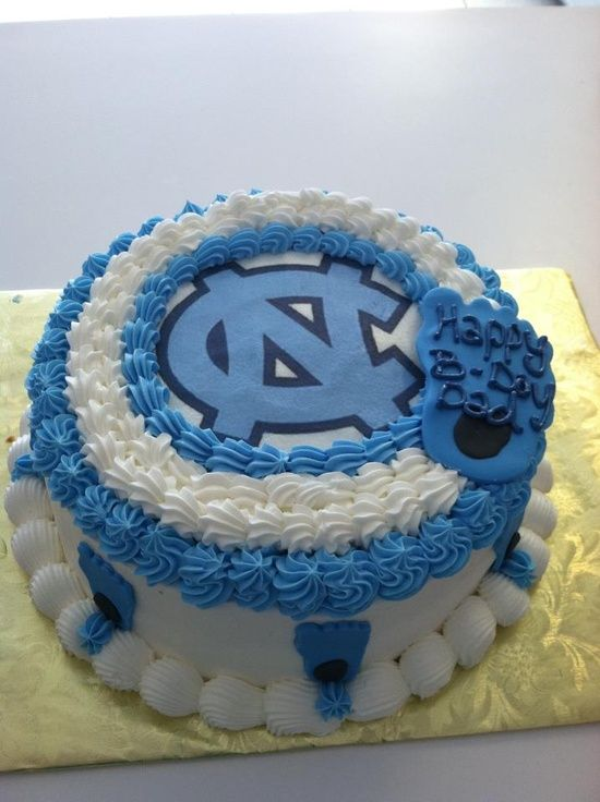 Tar Heel Cake Decorations