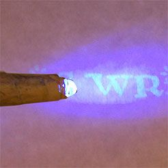 tutorial on how to make a wand that lights up and reveals secret messages
