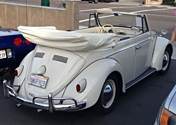 Pictured above: Just found! Pristine 1960 White on White Convertible Bug. Rare. Show quality. Perfect ride for summer. Ready for Zelectric commission. Interested? Get in touch: hello@zelectricmotors.com.