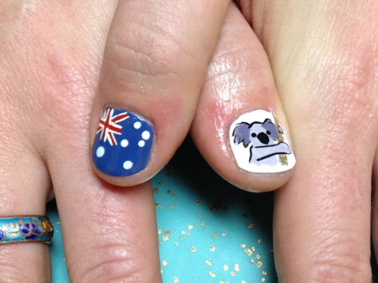 28 best australia day nails images on pinterest australia day nailsyall close up of southwestern australia nails prinsesfo Gallery