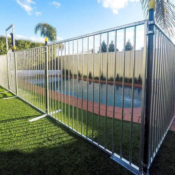 Designed To Prevent Children From Accessing A Pool Or Spa When Filled With Water It Complies With Australian Standar Pool Fence In Ground Pools Diy Pool Fence