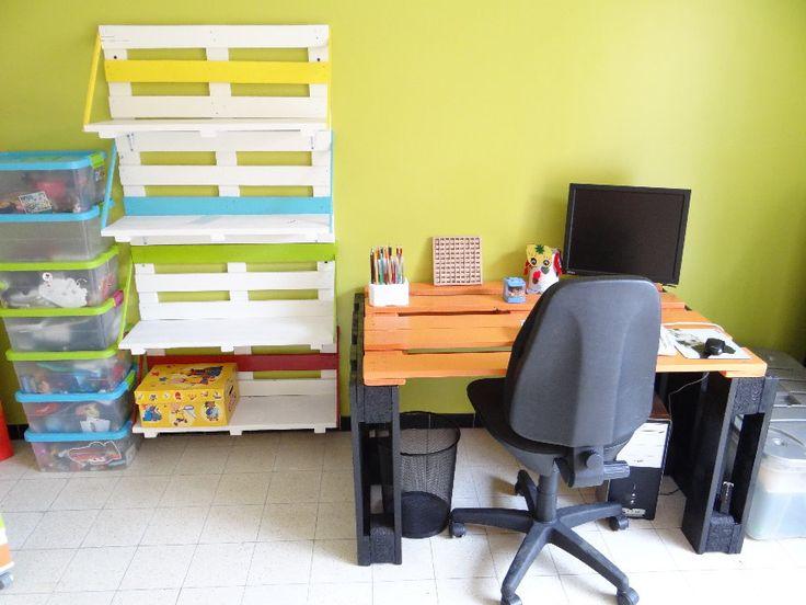 20 best images about chambre d 39 enfant en palettes de bois for Chambre enfant palette