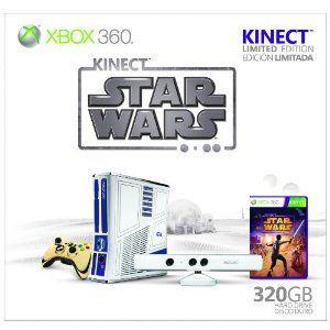 Xbox 360 Limited Edition Kinect Star Wars Bundle --- http://www.amazon.com/Xbox-360-Limited-Edition-Kinect-Bundle/dp/B0050SY300/?tag=secrettipsonc-20