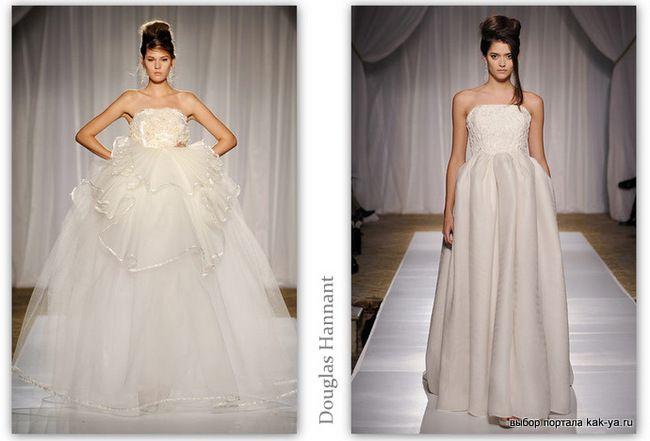 В центре внимания 2013 года - красные свадебные платья