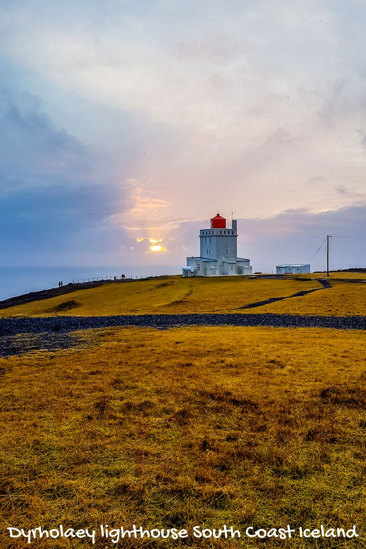 Dyrholaey lighthouse on the South Coast Iceland is an amazing site, hotel, nesting ground for birds and a view like no other. . . | Things to see in Iceland | South Coast of Iceland | Black sand beaches in Iceland | Puffins in Iceland | Day trips from Reykjavik | Lighthouses in Iceland |