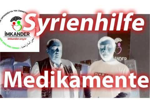 Syrien-Hilfe mit Medikamenten geht weiter – Hilfslieferung für Kafr Hamrah (Aleppo) – IMKANDER « Imkander - Waisenkinderhilfe und Nothilfe für Flüchtlinge aus Kriegsgebieten