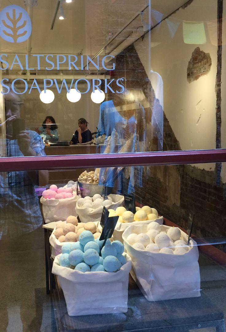 Saltspring Soapworks Fan Tan Alley, Chinatown, Victoria B.C.