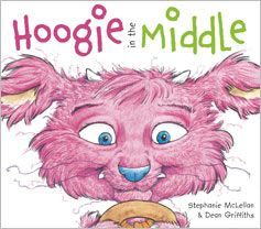 Finally, a chance for middle children to get their own back. Hoogie in the Middle by Stephanie McLellan, illustrated by Dean Griffiths. Available in Canada May 1, 2013.