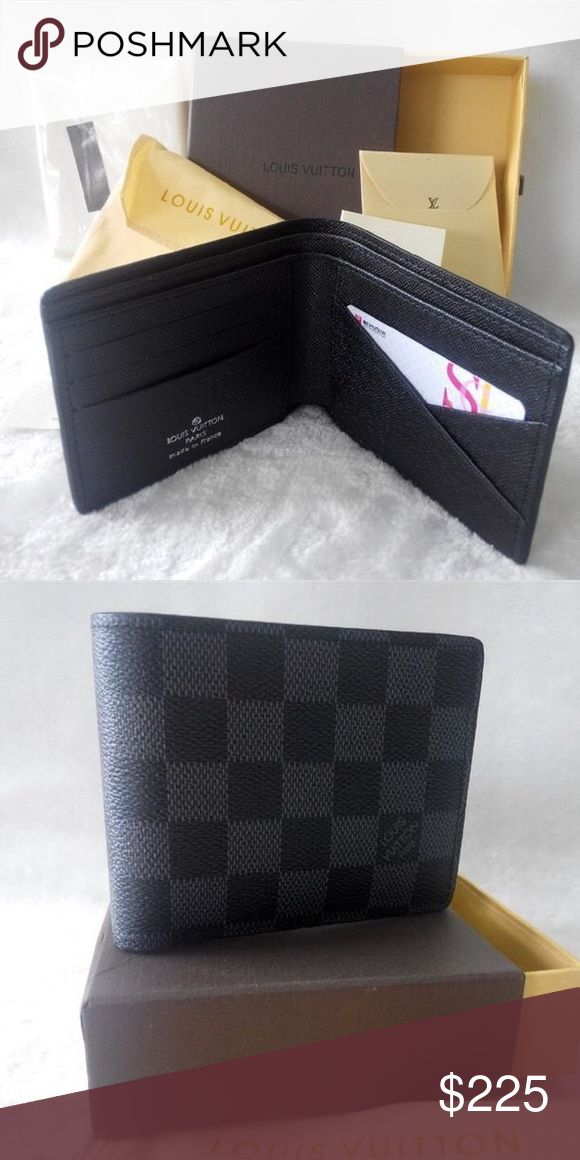 Louis Vuitton Men Wallet Louis Vuitton Wallet 100% authentic comes with everything in picture Gucci Bags Wallets