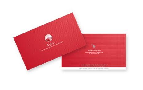 Aplicativos de Marca LBC Business Card.