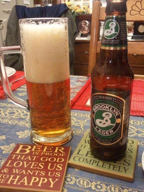 Brooklyn Brewery Brooklyn Lager... delish!