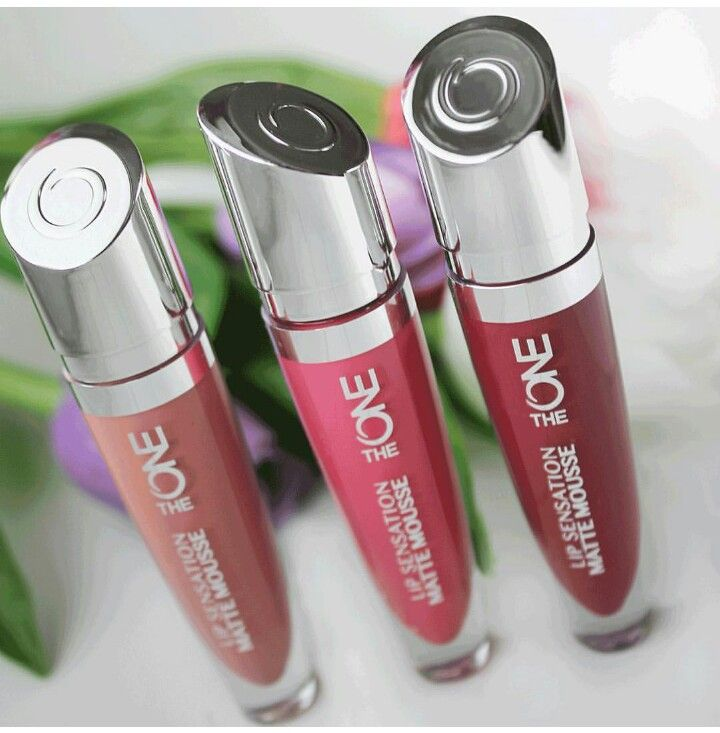 The one lip sensation matte mousse.