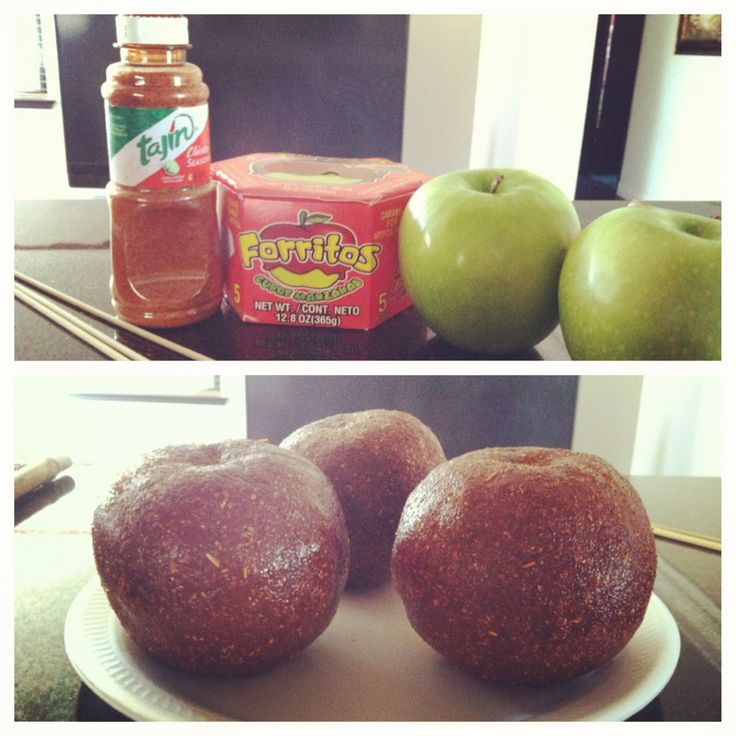Mexican tamarind candy apples!
