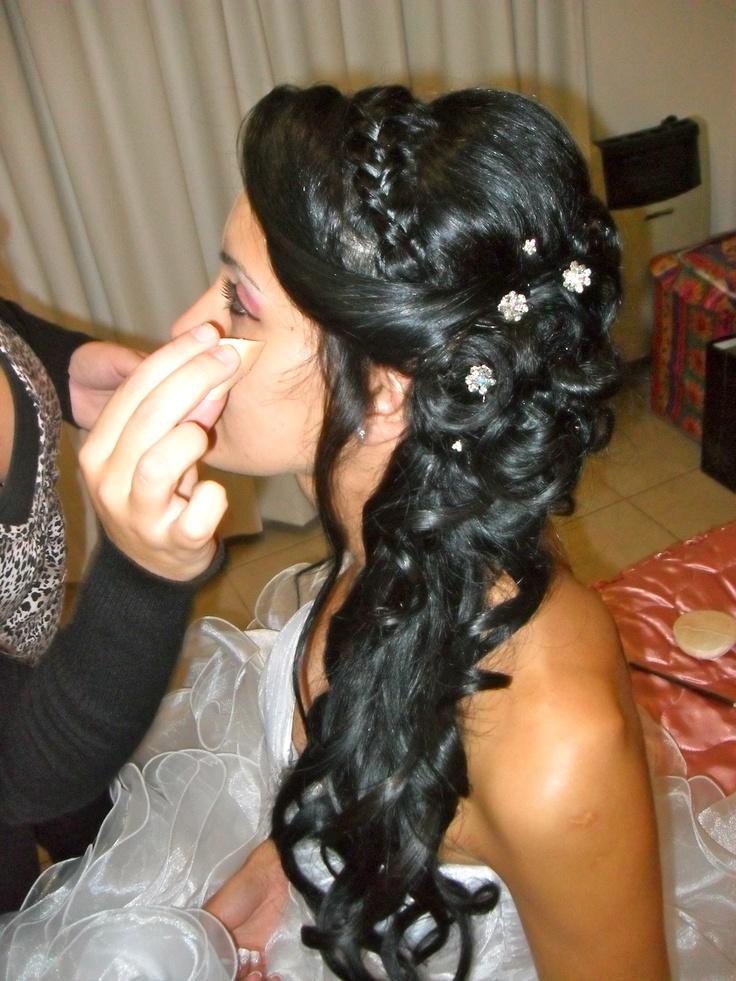 Mi último trabajo! Peinado de novia!