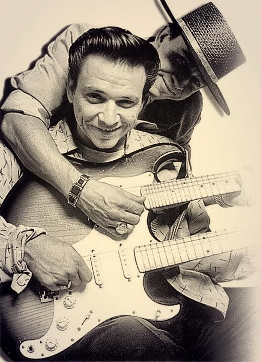 Stevie Ray and Jimmie Lee Vaughan