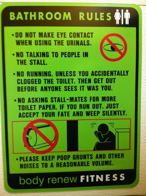 Bathroom Signs No Pooping 38 best funny signs images on pinterest | funny signs, bathroom