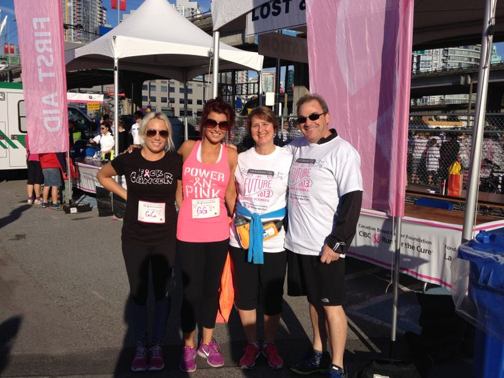 CIBC Run for the Cure 2013 with Greg, Alicia and Ashley