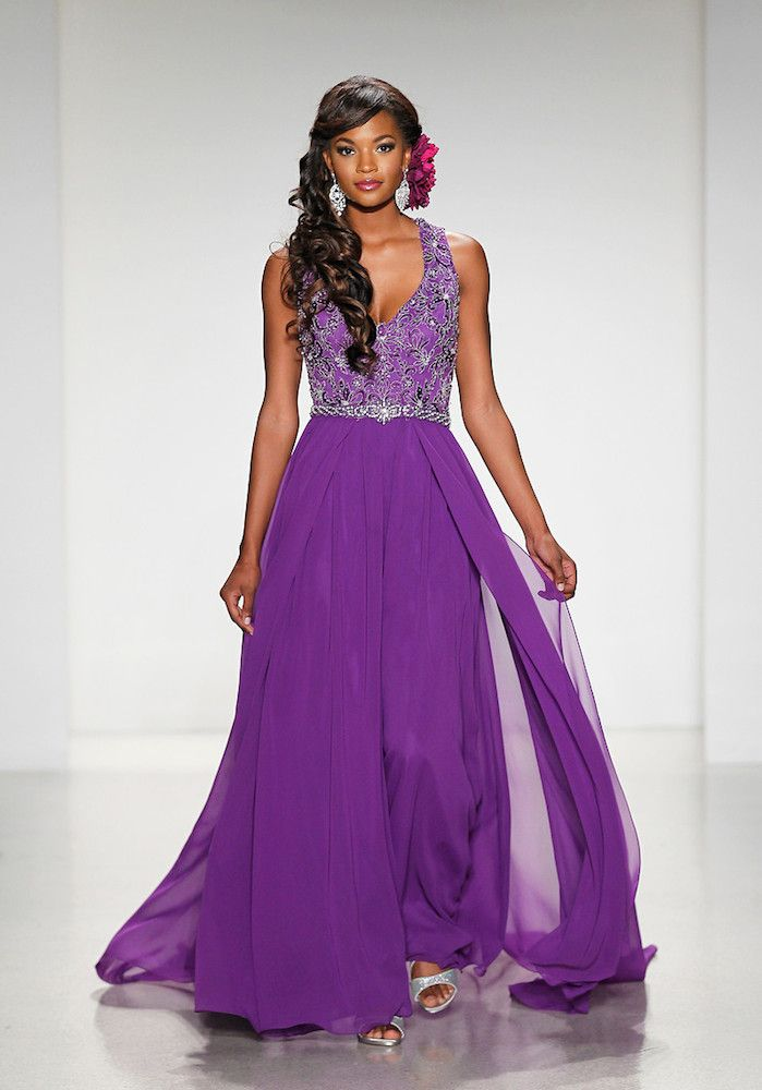 268 Best Purple Wedding Dresses And Cakes Images On Pinterest