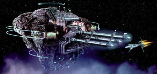 fuckyeahspaceship:  Titan AE concept art. http://ift.tt/2hYaTPK