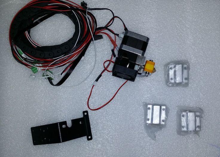 3D Printer MK10 Wanhao Extruder ,Bracket and Linear Bearing Blocks