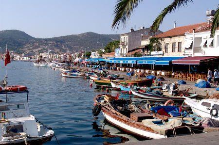 Der reizvolle Fischerort Foça bei Izmir