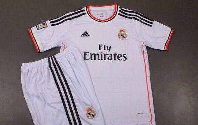 Marca publica fotos do novo uniforme do Real Madrid - http://www.colecaodecamisas.com/novo-uniforme-do-real-madrid/