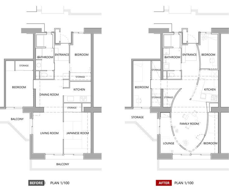 mamm design renovation in sagami-ono kanagawa japan designboom