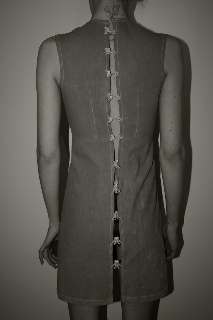 Rabbit Spine Dress | Freya Edmondson