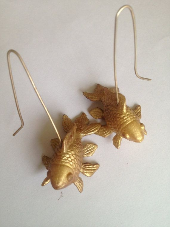 1000 ideas about fish hook on pinterest fish hook for Gold fish hook pendant