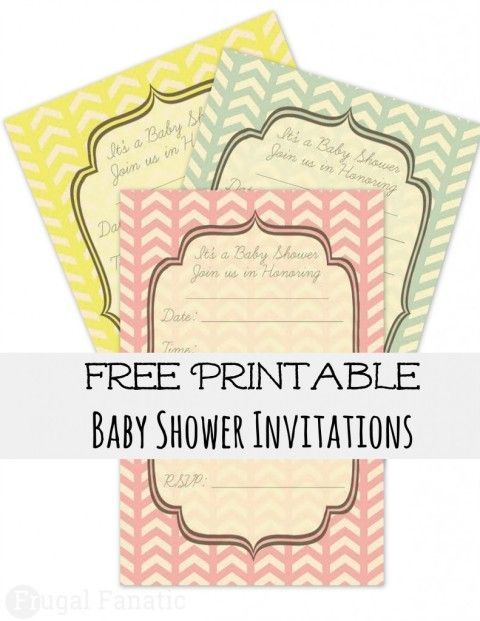 Free Baby Shower Invites  Baby Shower Template Invitations