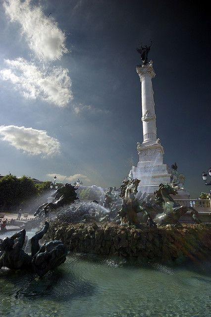 La Fontaine de Place des Quinconces - Stefano Bacci (Bordeaux, Gironde, Aquitaine, France)