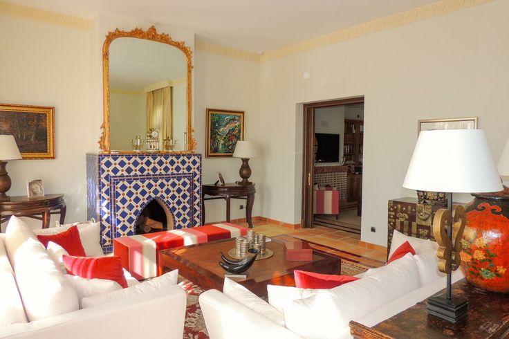 A magnificent estate frontline to the golf with sea views in Sotogrande - #sotogrande #design #moroccan #andalusian #interiordesign