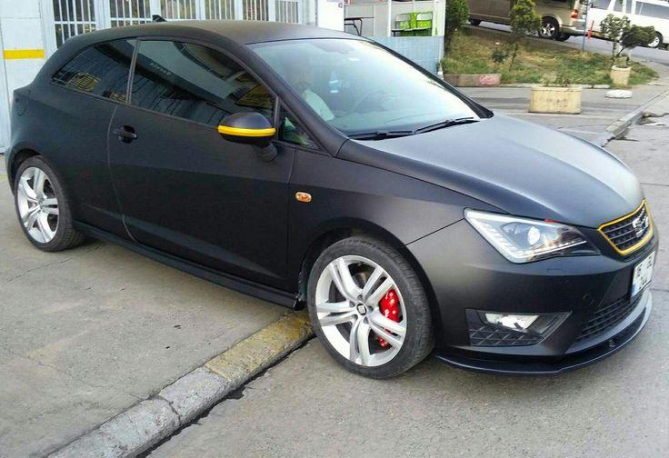 Seat Ibiza matt black