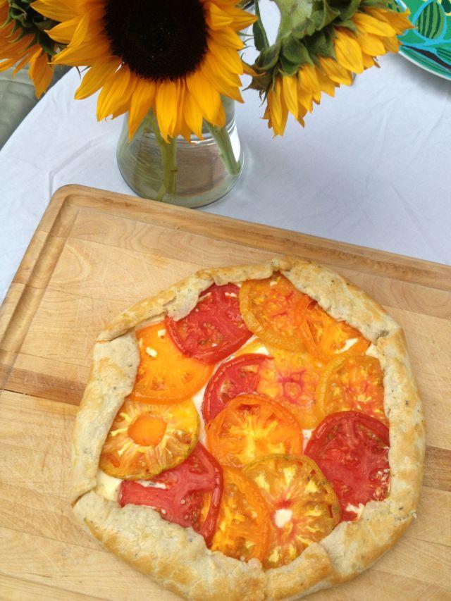 Heirloom Tomato Galette (use recipe index)