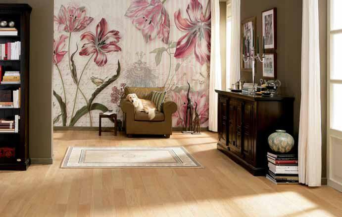 Fresh FOTOTAPETE Komar Blumen Deko Wand Bild Tapete MERIAN Teile