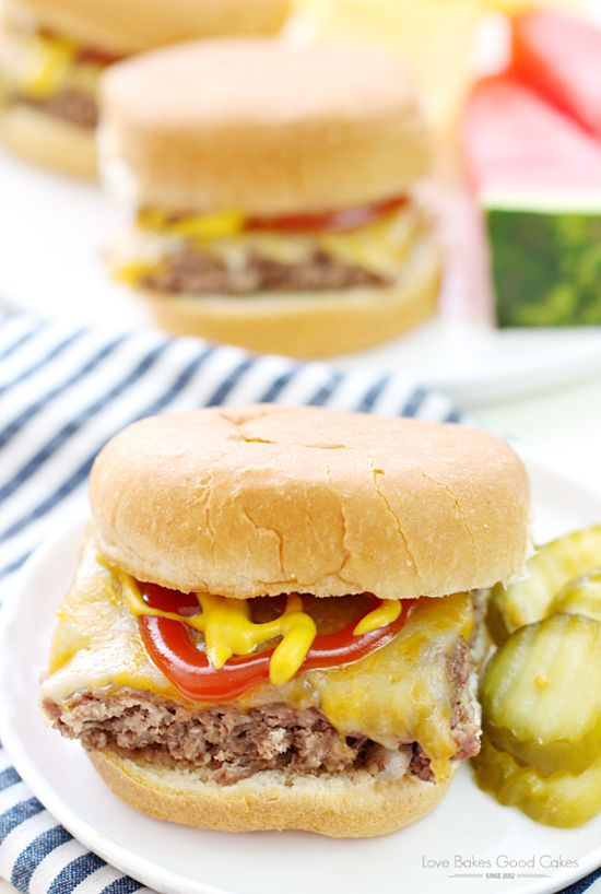 Easy Beef Sliders