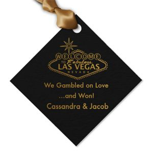 Wedding Favors & Party Supplies - Favors and Flowers :: Wedding Favor Themes :: Las Vegas Wedding Favors :: Casino Personalized Hang Tags and Stickers :: Vegas Diamond Personalized Hang Tags