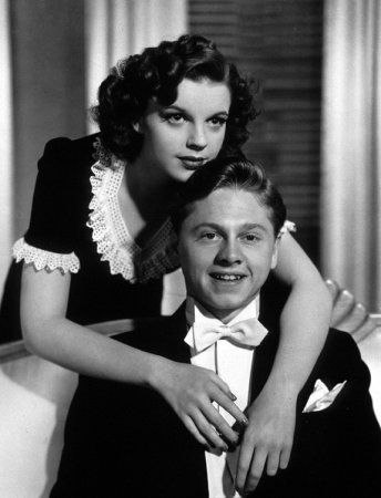 """Judy Garland and Mickey Rooney, """"Andy Hardy Meets Debutante"""", 1940"""