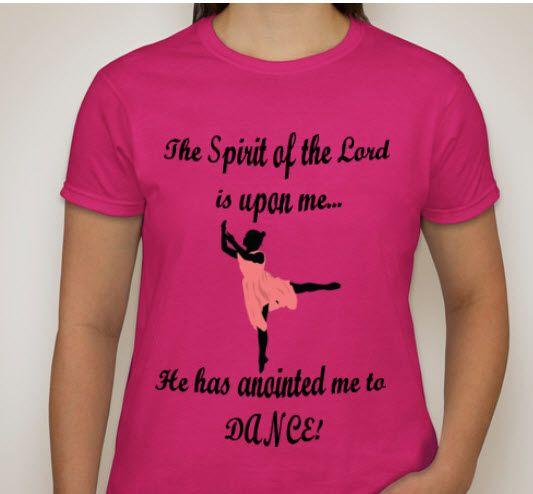 Praise Dance T Shirt Designs
