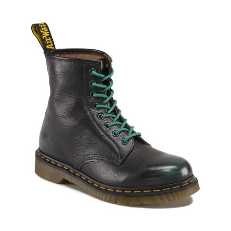 Shop for Dr. Martens 1460 Rogue 8-Eye Boot in Green at Journeys Shoes. Shop today for the hottest brands in mens shoes and womens shoes at Journeys.com.Get a style all your own with the 1460 8 Eye Boot from Dr Martens. The smooth leather upper of this classic boot offers rugged durability and style. The signature Dr. Martens welted construction and original PVC outsole ensure long-lasting durability. ORDER IN YOUR NORMAL U.S. SIZES. Available only online at Journeys.com!Please note  This…