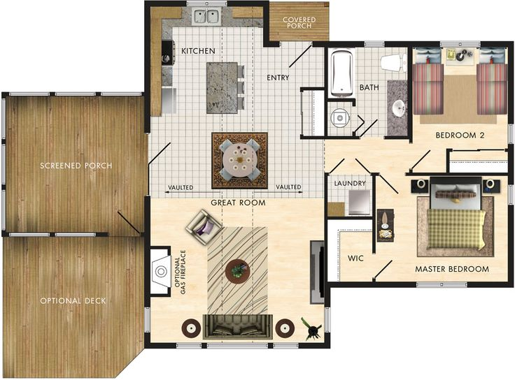 Lindhill I Floor Plan Favorite Places Amp Spaces