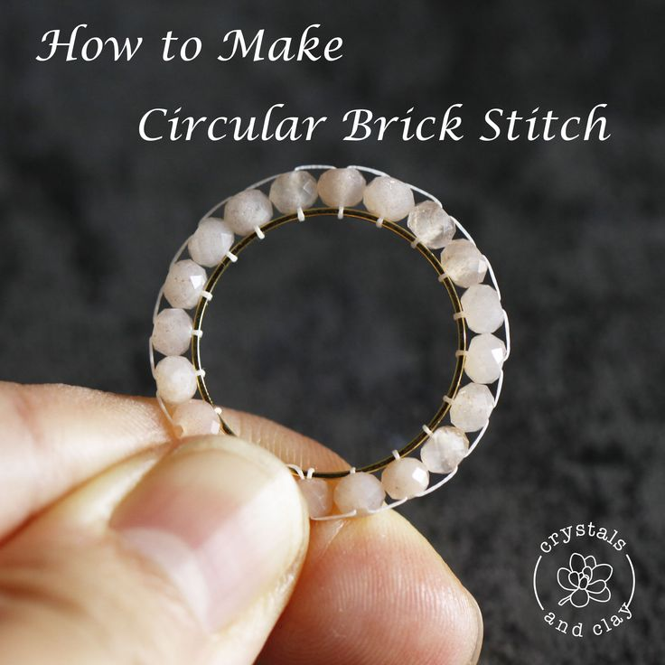 learn how to do the basic circular brick stitch. Read my tutorial for more earring designs using circular brick stitch