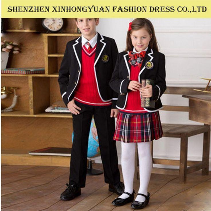 Diseño de Uniforme escolar, de calidad superior, personalizado diseño de uniforme escolar