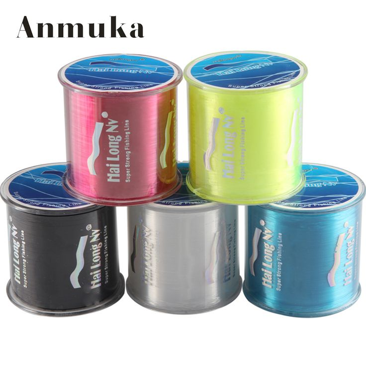 500M nylon line fishing line Hailongnv Fly carp line fishing line monofilament  fish Fishing Tackle >>> Click image to review more details.