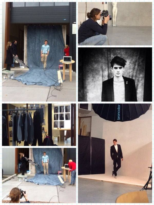 How shooting on the set works at WE Fashion