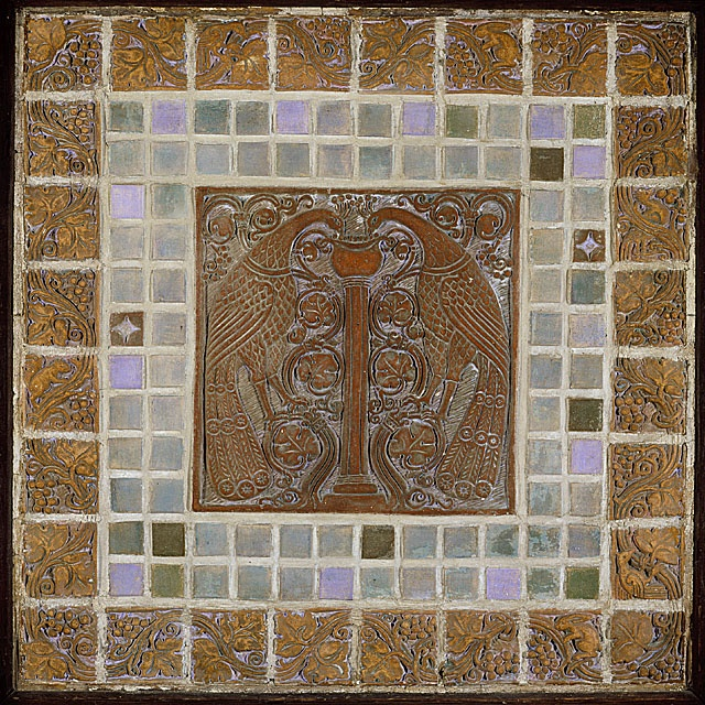 17 Best Images About Batchelder Tiles On Pinterest Ceramics Peacocks And Fireplace Tiles