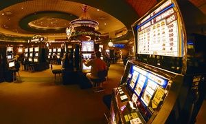 Groupon - 1- or 2-Night Stay for Two with Dining and Casino Credit at Bear Claw Casino & Hotel in Saskatchewan in Carlyle, SK. Groupon deal price: $69